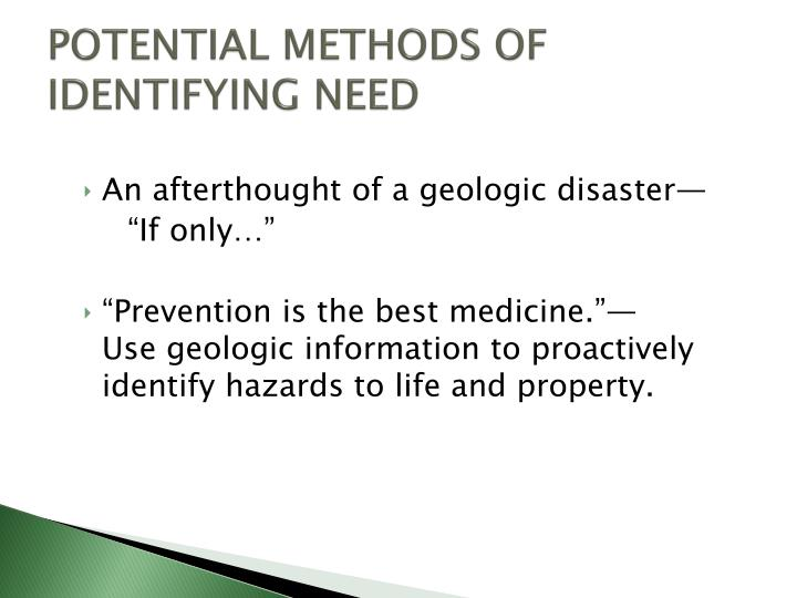 methods of identifying hazards Identifying hazards fully and  there are many methods to identifying hazards  breaking down each activity into steps and identifying all of the hazards is.
