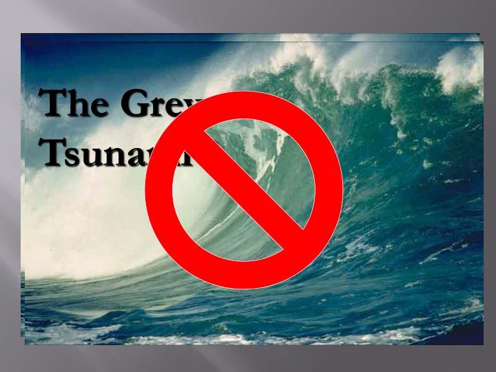 The Grey Tsunami ?