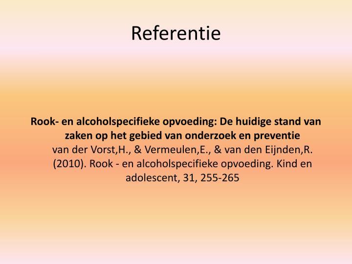 Referentie
