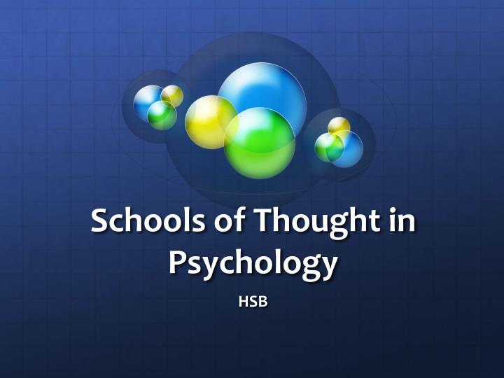 school of thought in psychology Functionalism: functionalism,, in psychology, a broad school of thought originating in the us during the late 19th century that attempted to counter the german school of structuralism led by edward b titchener.