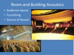 room and building acoustics4
