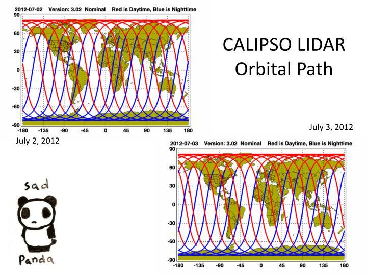 CALIPSO LIDAR