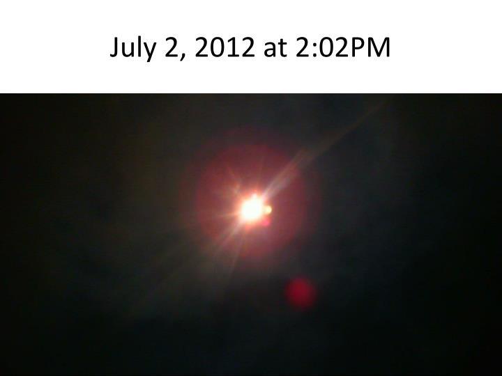 July 2, 2012 at