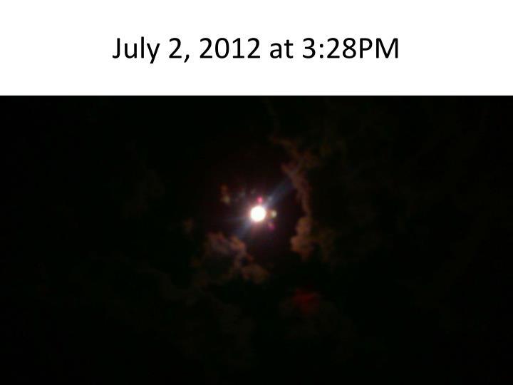 July 2, 2012
