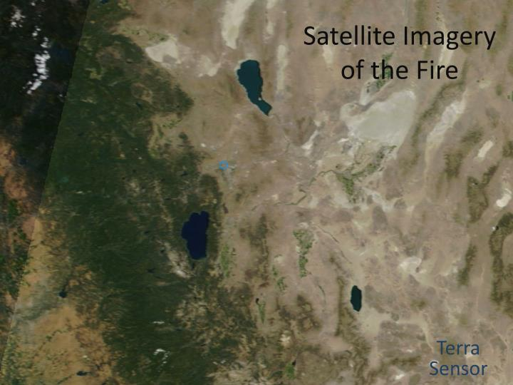 Satellite Imagery of the Fire