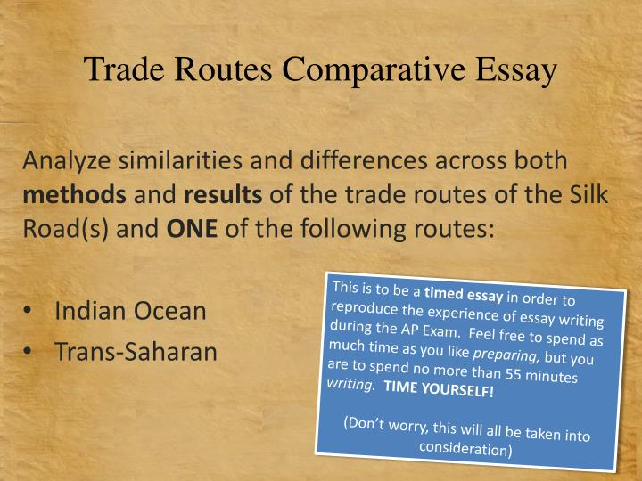 how to start a comparative essay