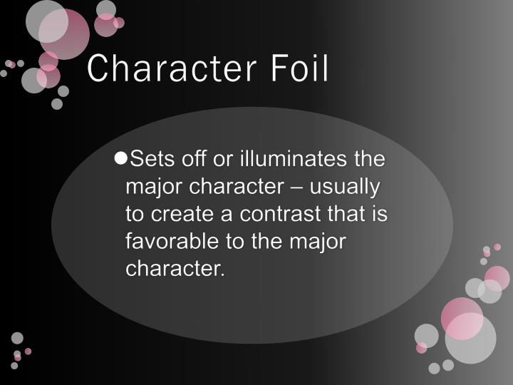 Character Foil