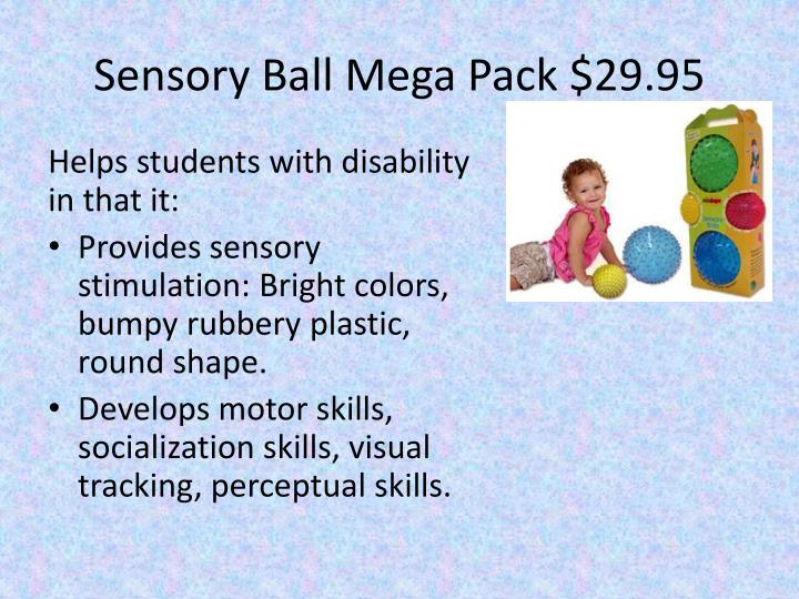 Sensory Ball Mega Pack $29.95