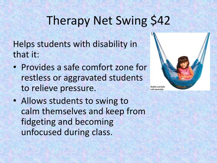 Therapy Net Swing $42