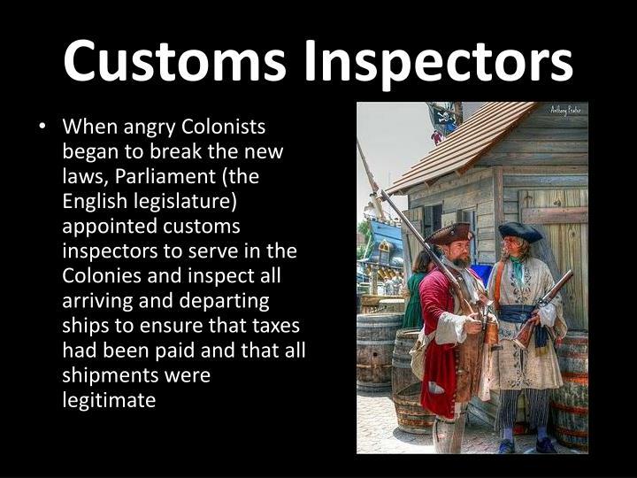 Customs Inspectors