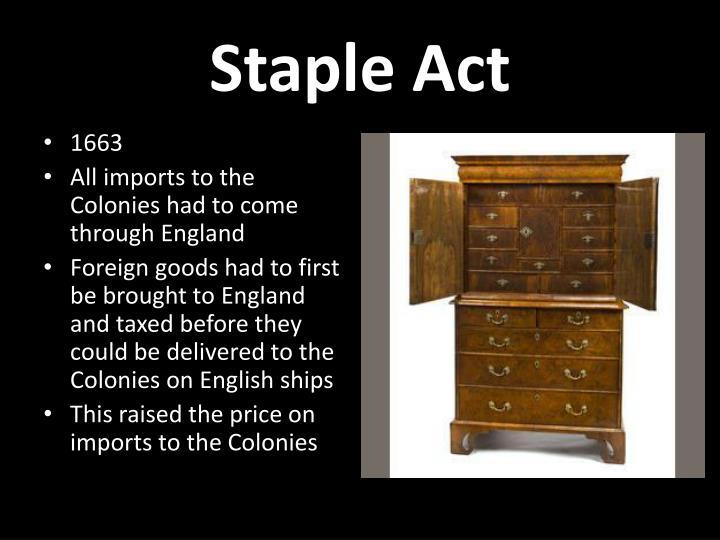 Staple Act