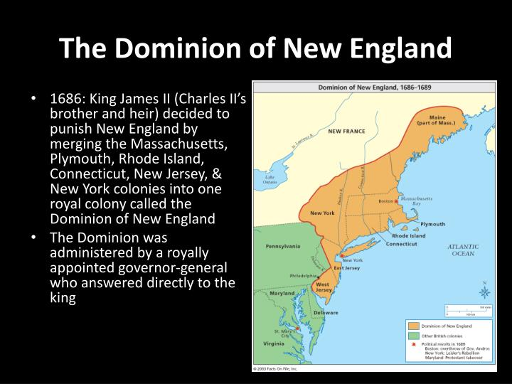 The Dominion of New England