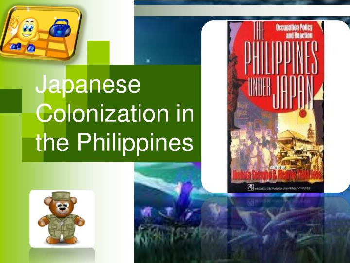 japanese colonization in the philippines n.