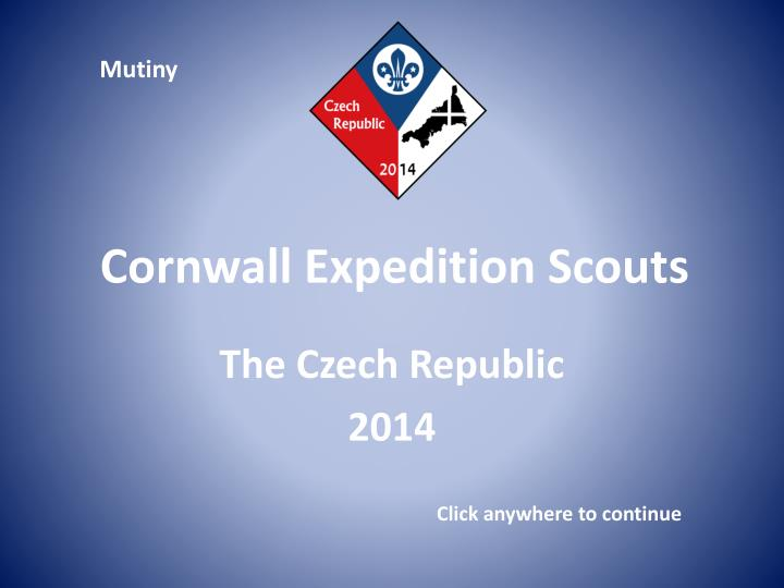 cornwall expedition scouts n.