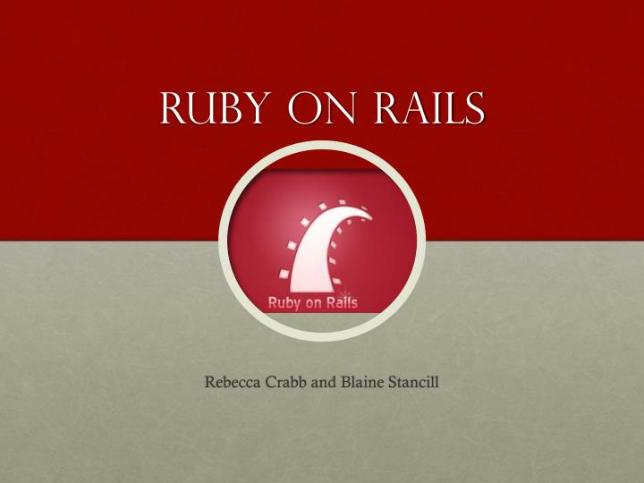 ruby on rails n.