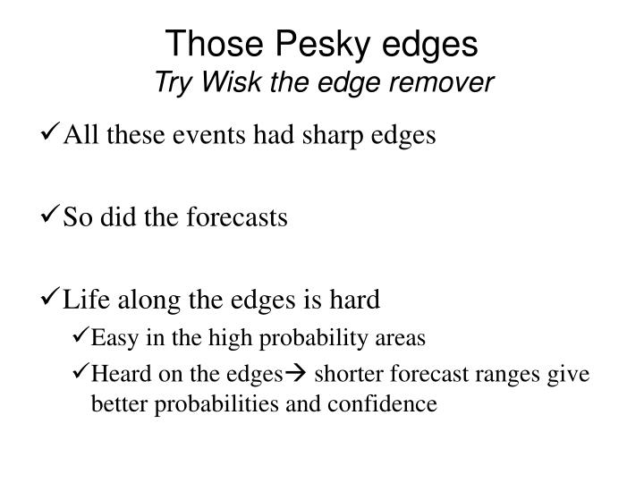 Those Pesky edges