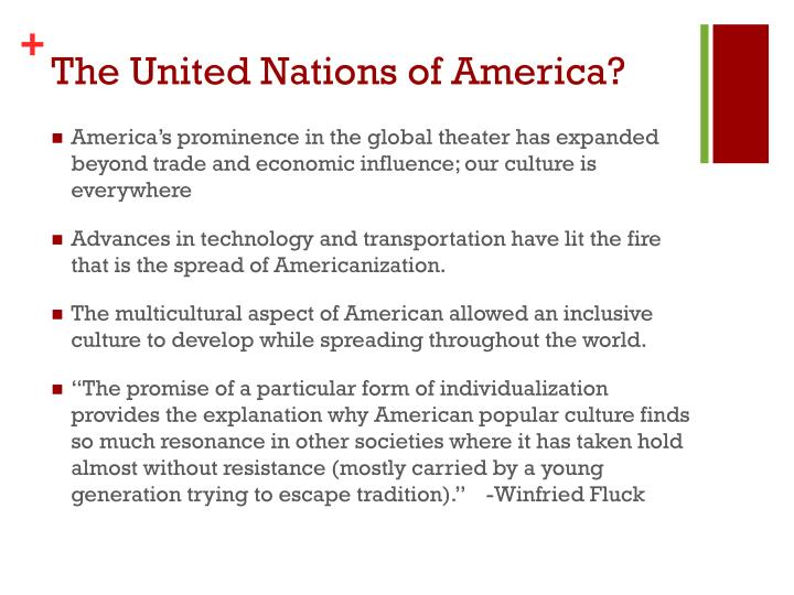 The united nations of america