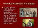 historical overview continued2