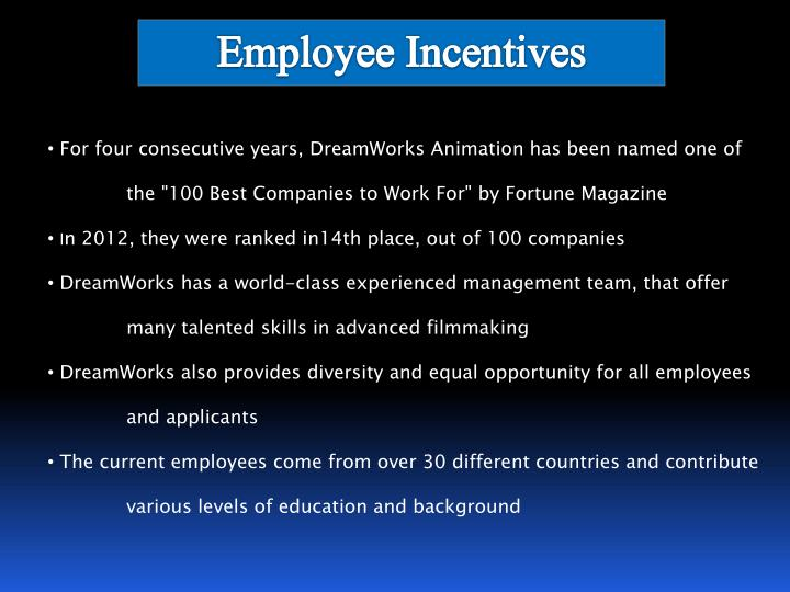 employee incentives Employee morale surveys from infosurv can help you determine what incentives are best for your employees to find out more about some of the best employee incentives, read on to find out more about some of the best employee incentives, read on.
