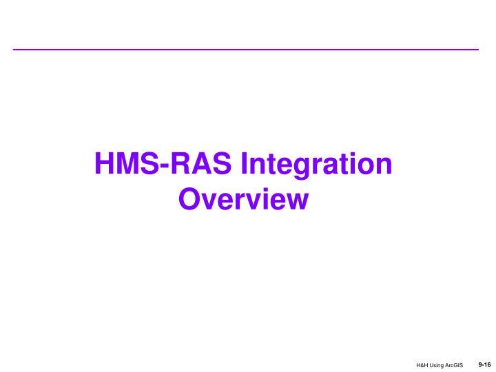 HMS-RAS Integration Overview