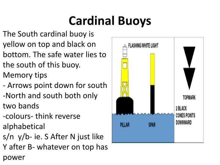 Cardinal Buoys