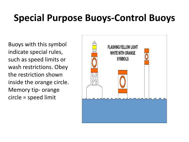 Special Purpose Buoys-Control Buoys