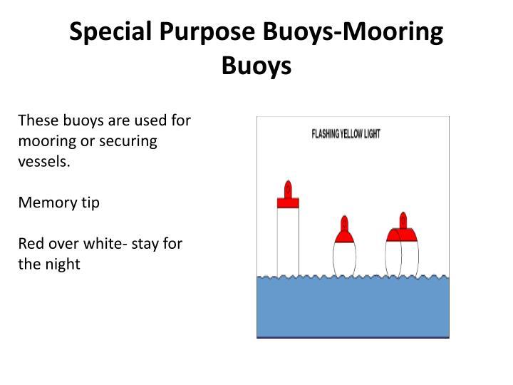 Special Purpose Buoys-Mooring Buoys