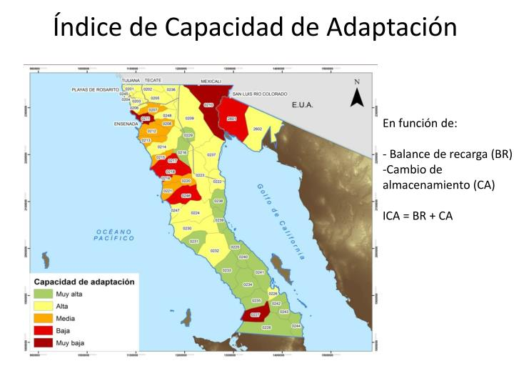 Índice de Capacidad de Adaptación