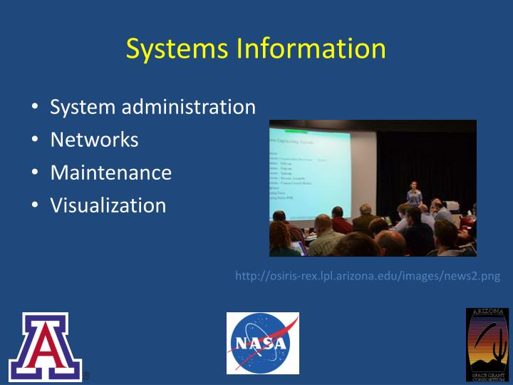 Systems Information
