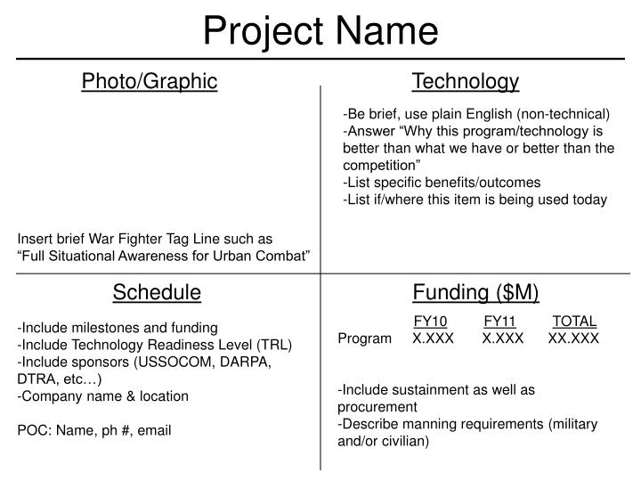 PPT - Project Name PowerPoint Presentation - ID:2575815