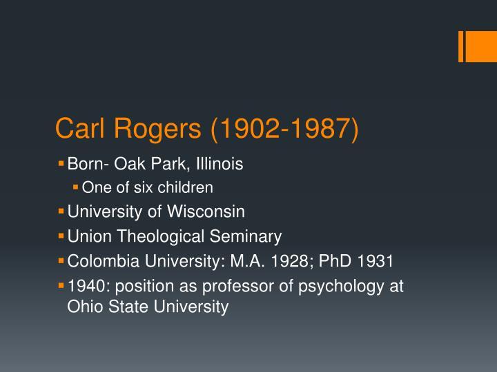 Carl rogers 1902 1987