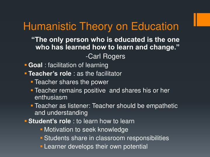 Humanistic Theory on Education