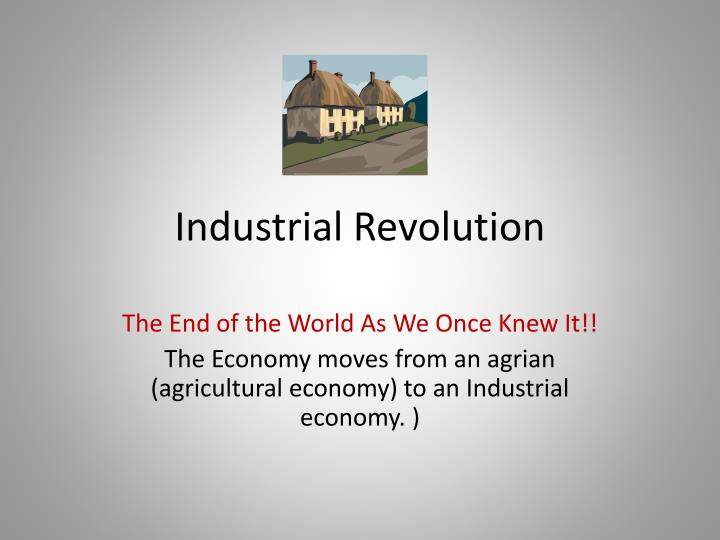 an introduction to the history of the industrial revolution of england The industrial revolution – an introduction to the a revolution started in england and the industrial revolution was a major turning point in history.