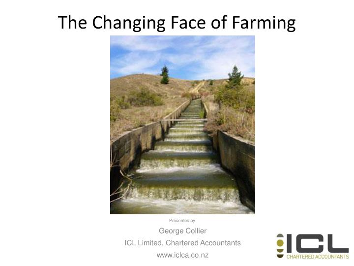 the changing face of farming n.