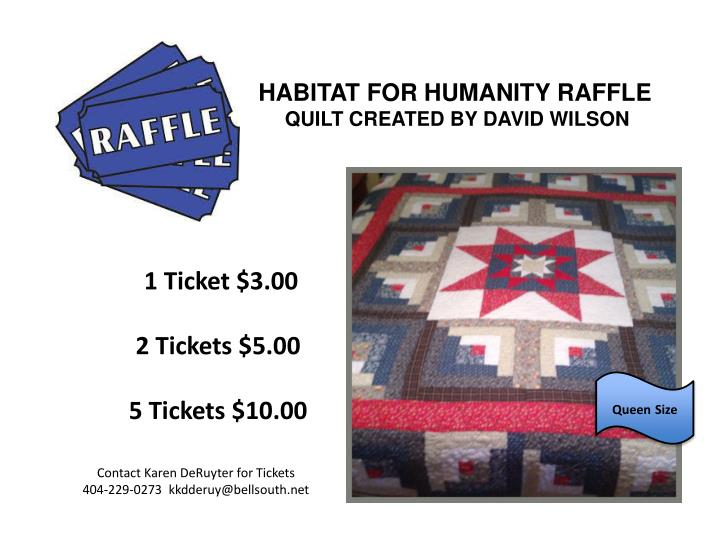 habitat for humanity raffle quilt created by david wilson n.