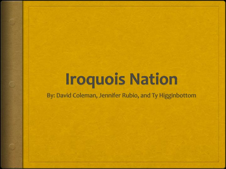 iroquois nation n.