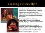exposing a disney myth