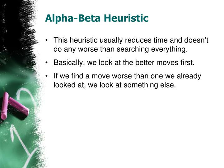 Alpha-Beta Heuristic