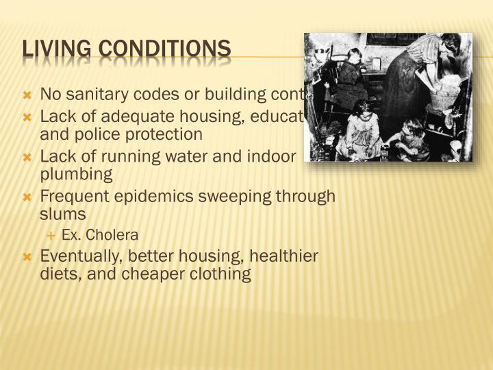 No sanitary codes or building controls