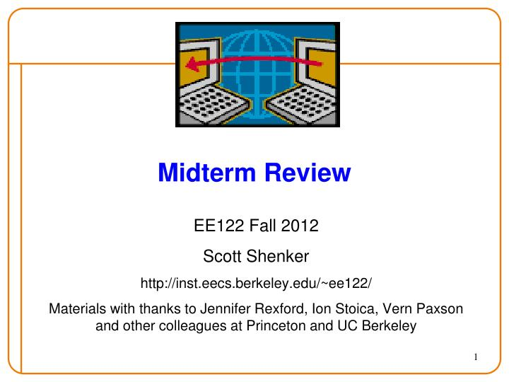 midterm review n.