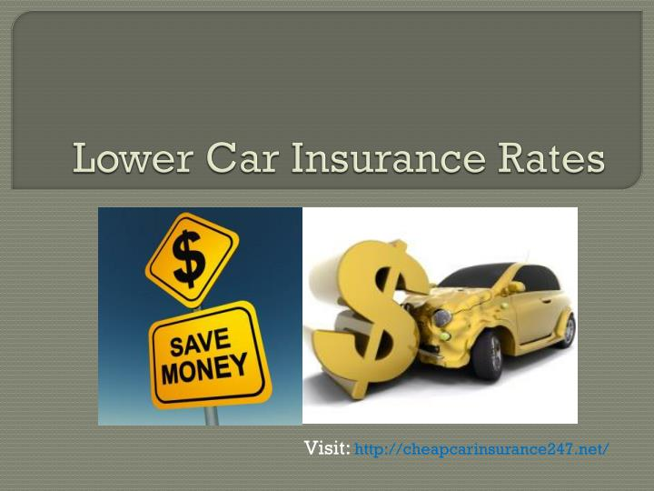 lower car insurance rates