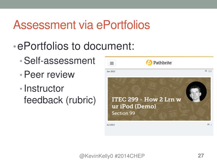 Assessment via