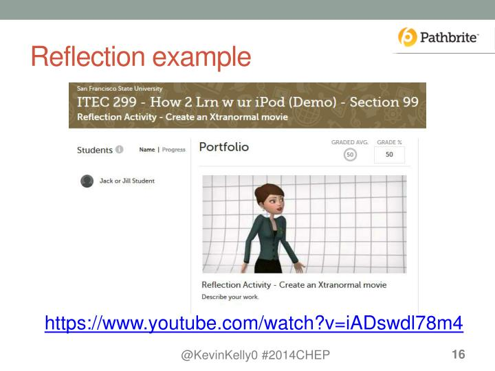 Reflection example