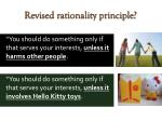 revised rationality principle