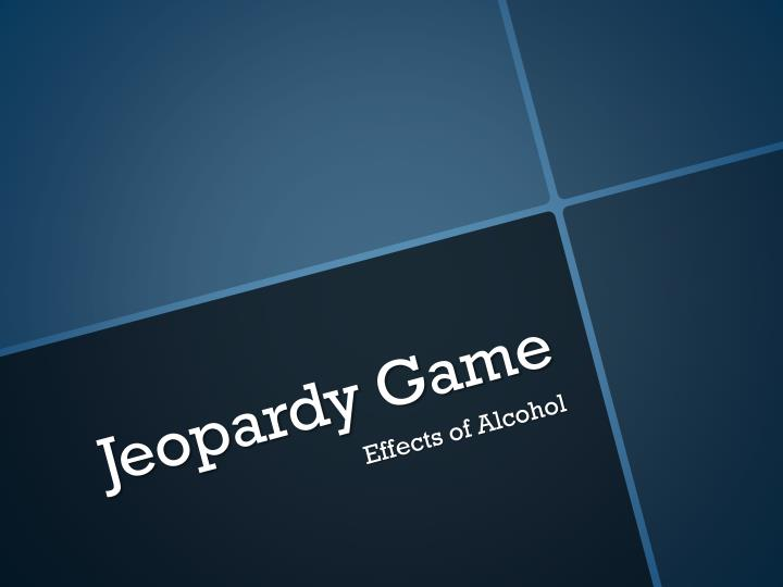 PPT Jeopardy Game PowerPoint Presentation ID 2577682