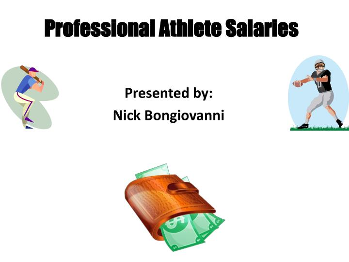 salary caps for professional athletes Nevertheless, the enormous salaries earned by sports stars are chiefly the result of the willingness of their fans to pay to see them play if my neighbors in the sports bar are seriously distressed that star athletes make so much more than educators, the power to alter that situation lies with them.