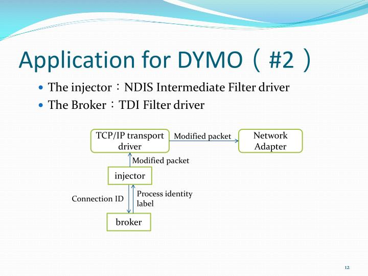 Application for DYMO