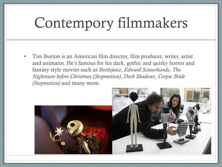 Contempory filmmakers