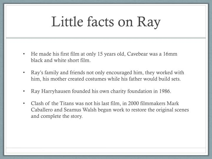Little facts on ray