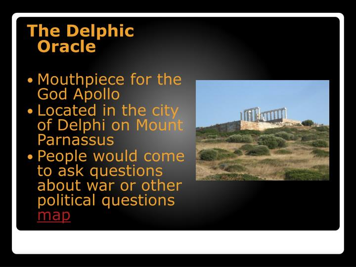 The Delphic Oracle